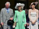 Der erste öffentliche Auftritt von Herzogin Meghan nach ihrer Hochzeit mit Prinz Harry. (Foto)