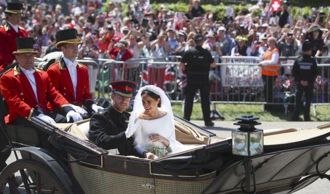 Prinz Harry of Wales hat Meghan Markle geheiratet. (Foto)