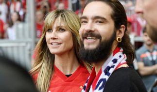 Heidi Klum und Tom Kaulitz in München. (Foto)