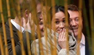 Meghan Markle hat mit Prinz Harry ihren Traummann gefunden - doch offenbar war der Royal nicht Meghans erste Wahl. (Foto)