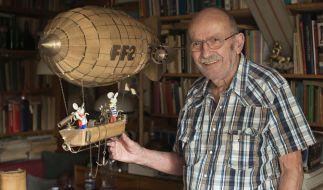 Der deutsche Comiczeichner Jürgen Kieser ist im Alter von 97 Jahren verstorben. (Foto)