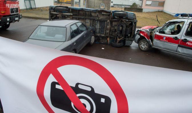 Unfall auf der A6 bei Nürnberg