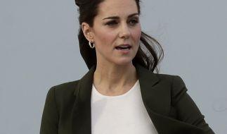 Kate Middleton hat gegen Meghan Markle verloren - in gewisser Weise. (Foto)