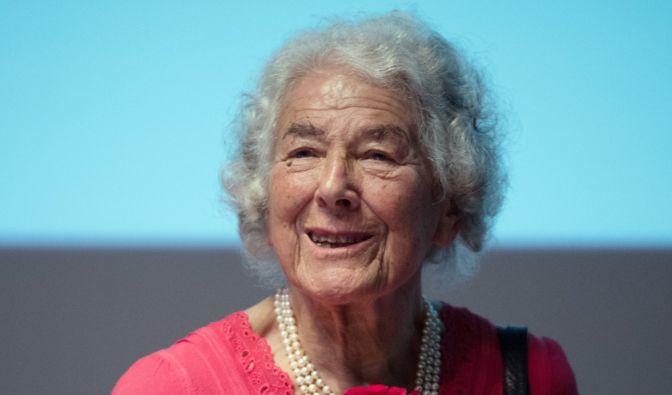 Judith Kerr, Kinderbuchautorin (14.06.1923 - 22.05.2019) (Foto)