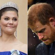 Prinzessin Victoria und Prinz Harry. (Foto)