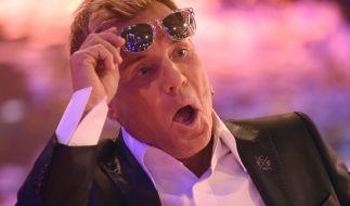 Dieter Bohlen hat seine typische Poptitan-Stimme momentan verloren. (Foto)