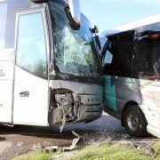 Schulbusse kollidieren in Bayern und Baden-Württemberg - zahlreiche Verletzte (Foto)