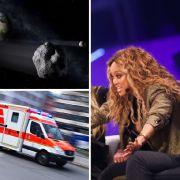 Todesdrama bei Sachsen-Rallye // Asteroid schrammt an Erde vorbei // Gottschalk ätzt gegen GNTM (Foto)