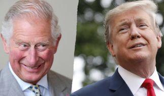 Prinz Charles freut sich auf eine Diskussion mit Donald Trump. (Foto)