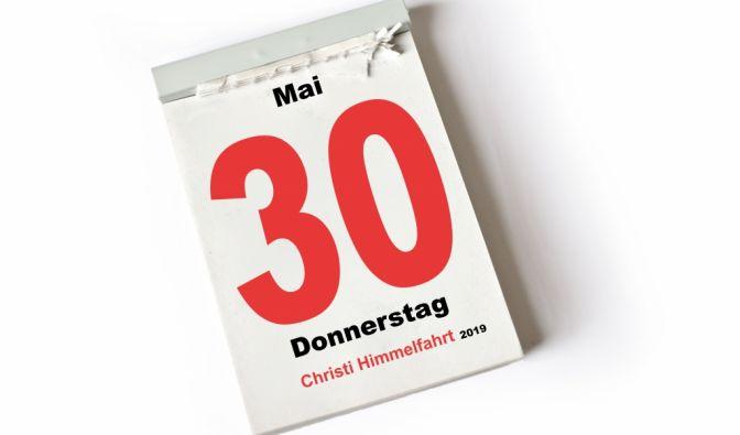 Verkaufsoffener Feiertag heute (30.05.19)