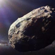 Weltraumbrocken schrammt an Himmelfahrt an Erde vorbei (Foto)