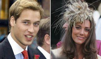 Bereits zu Studienzeiten waren Prinz William und Kate Middleton ein Paar. (Foto)