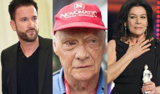 Michael Wendler, Niki Lauda und Hannelore Elsner sind nur drei der Stars, die in der vergangenen Woche für bestürzende Nachrichten sorgten. (Foto)