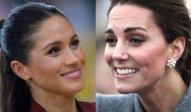 Meghan Markle, Kate Middleton,Prinz Harry