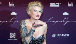 Melanie Müller ist auf Glamour-Events ein gern gesehener Gast. (Foto)