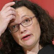 Nahles als SPD-Fraktionschefin zurückgetreten - Mützenich übernimmt (Foto)