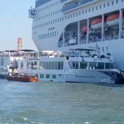 Im Video: Kreuzfahrtschiff rammt Touristenboot - mehrere Verletzte (Foto)