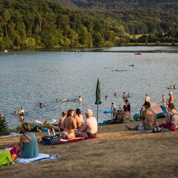Tragischer Todesfall! 26-Jähriger bei Karlsruhe in Baggersee ertrunken (Foto)