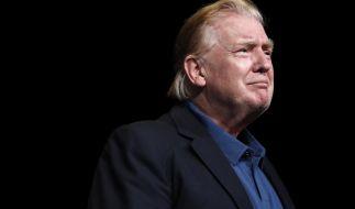 Donald Trump überrascht mit neuer Frisur. (Foto)
