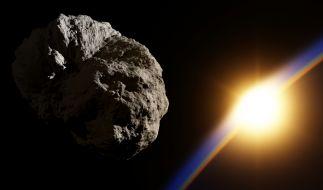 Am Wochenende ist ein Asteroid ganz knapp an der Erde vorbeigeschrammt. (Foto)