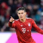James Rodriguez leaves Bayern Munich.