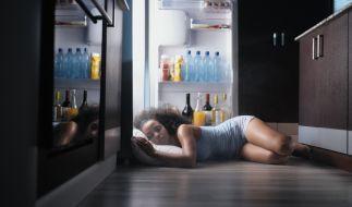 Schlafen bei Hitze ist eine Qual. (Foto)