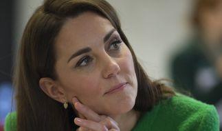 Kate Middleton blieb eine peinliche Begegnung mit ihrer einstigen Busenfreundin Rose Hanbury gerade so erspart. (Foto)