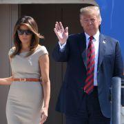 Ehekrise bei den Trumps? So viel Show steckt ihrem Lächeln (Foto)