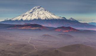 Droht der VulkanBolshaya Udina auszubrechen? (Foto)