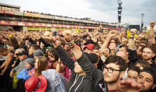 """Am Wochenende starten die Zwillingsfestivals """"Rock am Ring"""" und """"Rock im Park"""". (Foto)"""