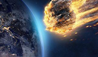 Erneut schrammt ein riesiger Asteroid gefährlich nah an der Erde vorbei. (Foto)