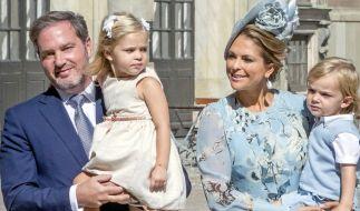 Prinzessin Madeleine von Schweden musste bei ihrem Besuch in Stockholm auf die Gesellschaft ihrer Kinder Prinzessin Leonore, Prinz Nicolas und Prinzessin Adrienne verzichten. (Foto)