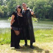 Michael Engel mit Freundin Kathi