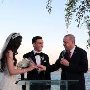 So lief die Özil-Hochzeit in Istanbul - mitErdogan als Trauzeuge (Foto)