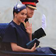 Prinz Harry und seine Frau Herzogin Meghan: Nach der Geburt von Baby Baby Archie, der am 6. Mai 2019 zur Welt kam, feierte Meghan Markle bei der diesjährigen