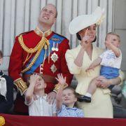 Immer ein Hingucker: die Herzogsfamilie von Cambridge.