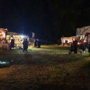Mitternacht im Heidnischen Dorf