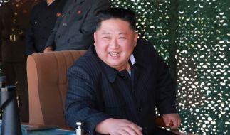 Kim Jong-un soll seine Feinde an Piranhas verfüttern. (Foto)