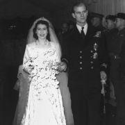Queen Elizabeth II., die damals noch Prinzessin Elizabeth genannt wurde, und Philip Mountbatten gaben sich am 20. November 1947 das Ja-Wort.