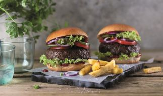 Beyond Meat Burger Aktion bei Lidl, Netto Marken-Discount und Edeka. (Foto)