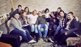 Calantha Wollny und Familie (Foto)