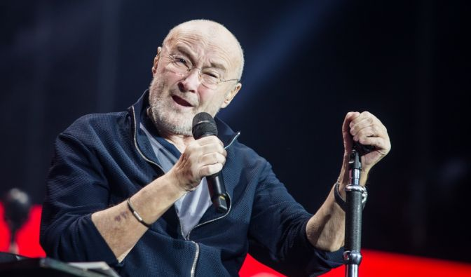 Phil Collins auf Tournee
