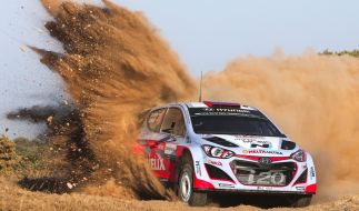Alle aktuellen Infos zur WRC Rallye Italien-Sardinien lesen Sie auf news.de. (Foto)