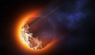 Am Freitag rasen gleich zwei gigantische Asteroiden sehr nah an der Erde vorbei. (Foto)