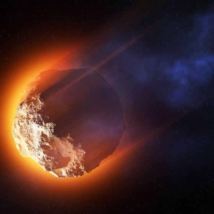 DIESE gigantischen XXL-Asteroiden rasen heute auf die Erde zu (Foto)