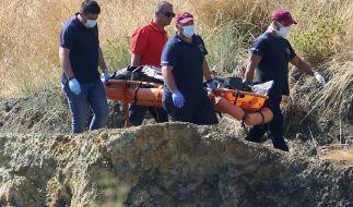 Taucher haben in einem See auf Zypern das siebte Opfer eines Serienmörders geborgen. (Foto)