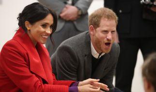 Meghan Markle und Prinz Harry haben offenbar eine Nanny für ihren Sohn engagiert. (Foto)