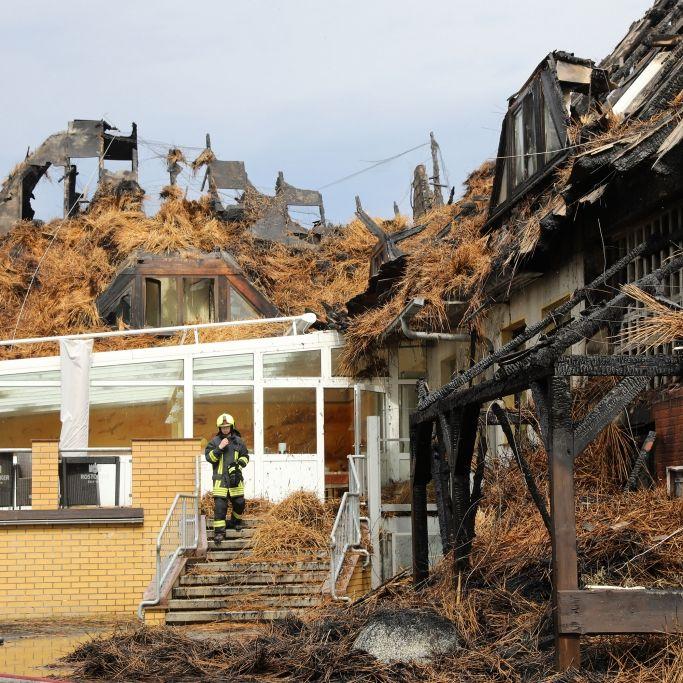 2 Millionen Euro Schaden! Hotel an Ostsee ausgebrannt (Foto)