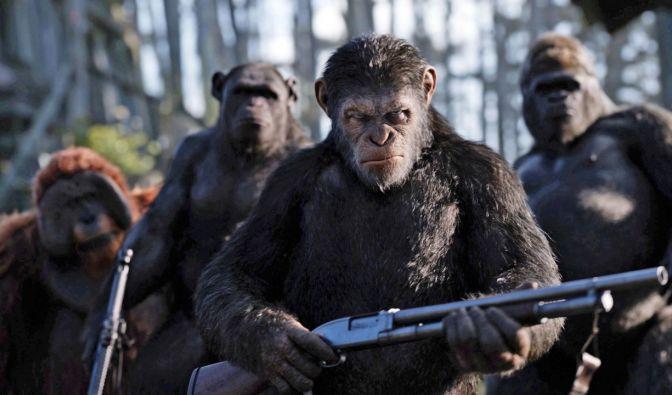 """""""Planet der Affen: Survival"""" heute im TV und Live-Stream"""