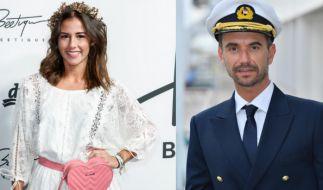 """Sarah Lombardi und Florian Silbereisen spielen auf dem """"ZDF-Traumschiff"""" offenbar ein Paar. (Foto)"""